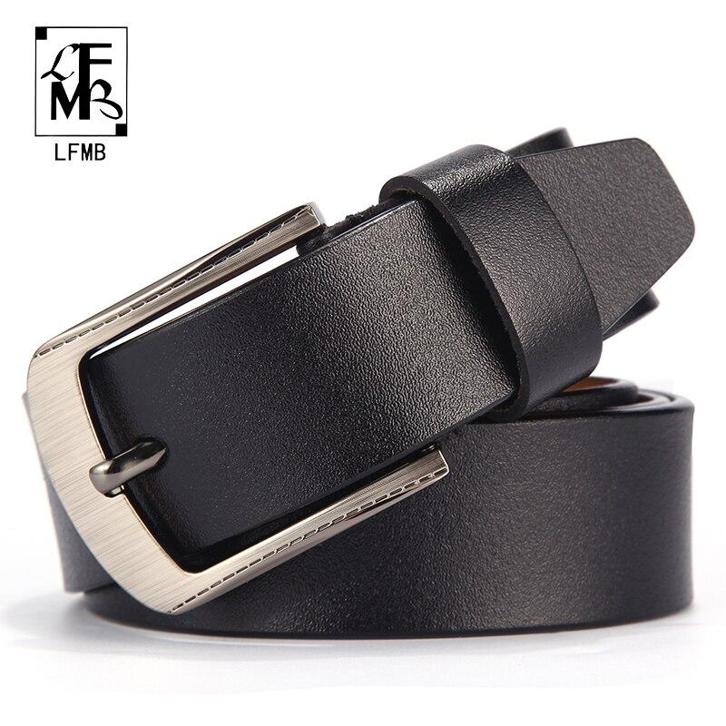 [LFMB]men leather belt male genuine leather strap trousers male strap genuine leather belt men ceinture homme cuir veritable