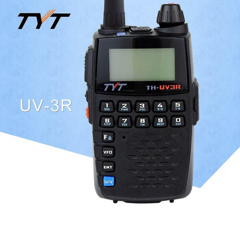 Aplicar a tyt TH-UV3R mini handheld rádio em dois sentidos vhf/uhf amador ht rádio carregamento usb ctcss/dcs walkie talkie fm transceptor