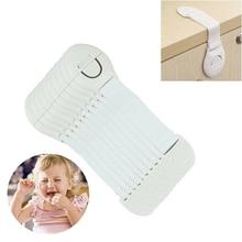 10 pièces sécurité en plastique enfants Protection serrure armoire porte tiroirs réfrigérateur toilette bloqueurs enfants bébé soins sécurité serrure sangle
