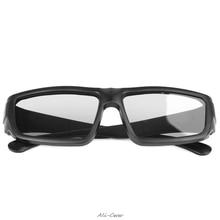 3D Glasses Black H4  Circular Polarized Passive 3D Stereo Glasses For TV Real D 3D Cinemas