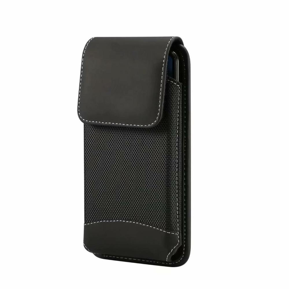 Funda de lujo de calidad bolsa de cinturón para teléfono BlackBerry DTEK60 DTEK50/Priv/Leap/Classic Non Camera
