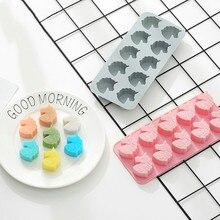 10 holes Unicorn Silicone Cake Mold DIY Cookies Soap Chocolate Mold Ice Cube Tray Ice Cream Maker