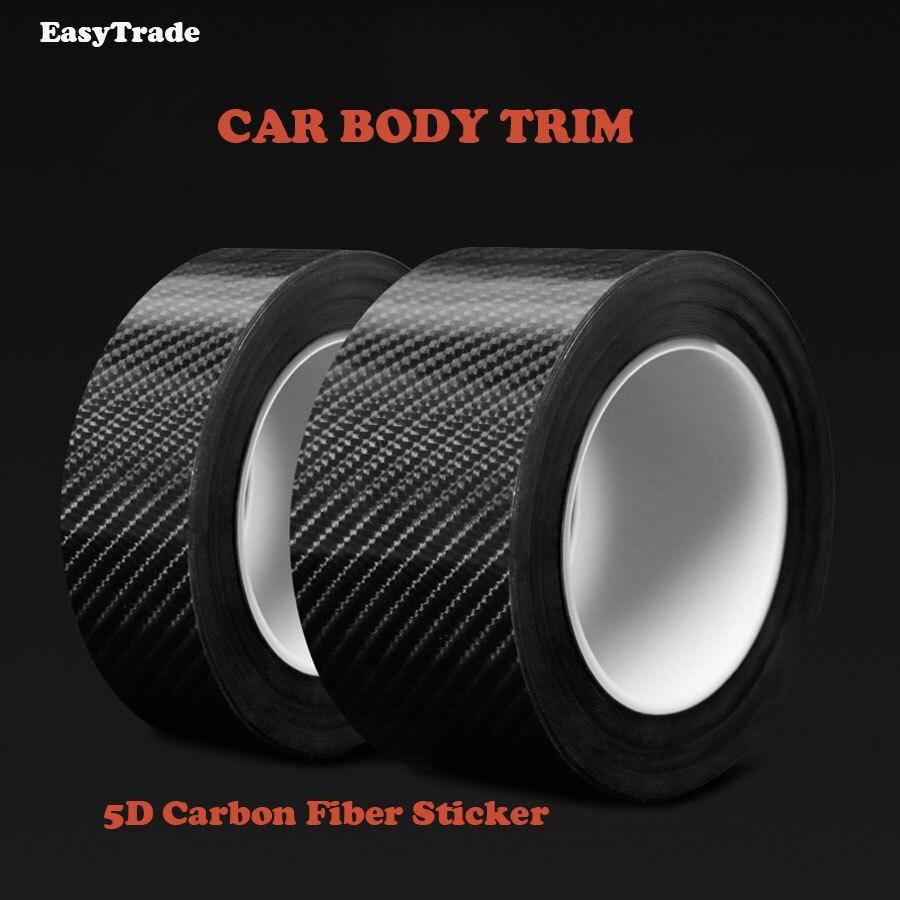 Coche de carrocería de fibra de carbono en el coche pegatinas de parachoques de puerta baúl Decoración Para BMW e46 e90 e39 e60 e36 e87 e92 e30 e34 Accesorios
