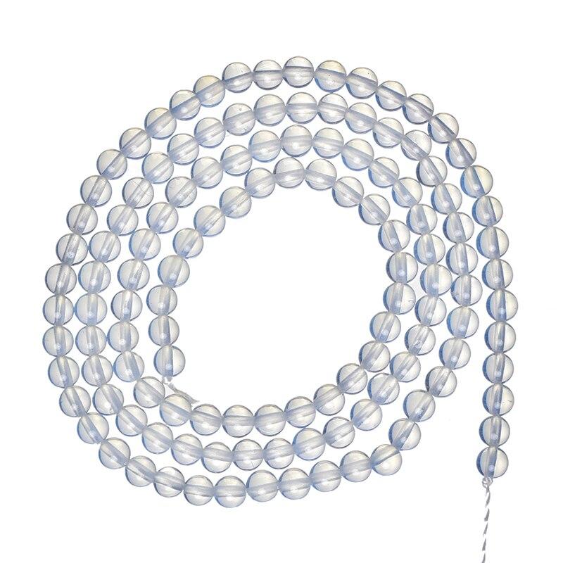 3mm de venda quente opala gemstone semi-acabado grânulos soltos handmake para diy fazendo descobertas de jóias 16 polegada com preço de comércio