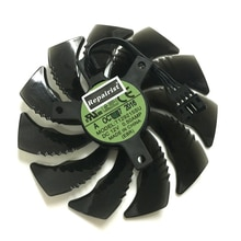 Gtx1070 gpu refrigerador 85mm fã da placa gráfica para gigabyte gtx 1070 windforce rx480 rx580 rx570 placa de vídeo refrigerar como substituição