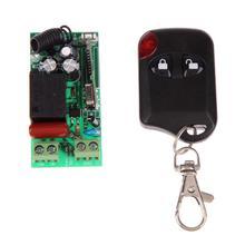 Commutateur de lumière   Télécommande sans fil, interrupteur de lumière 10A, relais de sortie Radio DC 12V wuth, interrupteur de télécommande à deux boutons, 315MHz lucmh