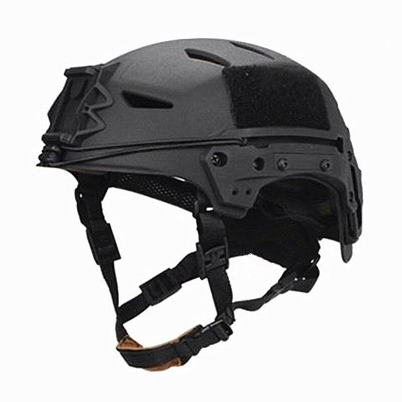 TB-FMA airsoftsports esportes capacetes novo bump exfll lite militar tático capacete preto paintball combate proteção frete grátis