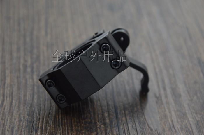 Montaje de alcance de 30mm/25mm objetivo universal de abrazadera universal pinza de aluminio luces láser clip riel clip M-05