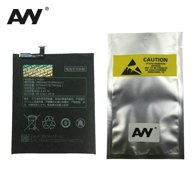 AVY LTF23A Battery For Letv Pro3 X720 X722 X728 Typ Mobile phone Rechargeable Replacement Li-polymer Batteries enlarge
