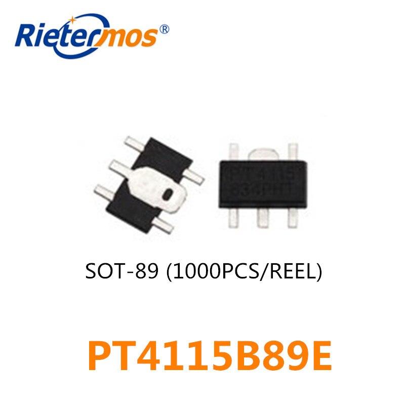 1000 قطعة PT4115 PT4115B89E 30V1A SOT89 SOT89-5 SMD