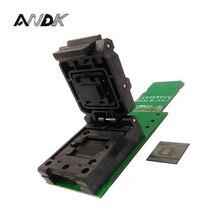 Adaptateur de prise de téléphone portable EMCP529 BGA529   Pour le test de police, la lecture du code SN et de linformation wifi