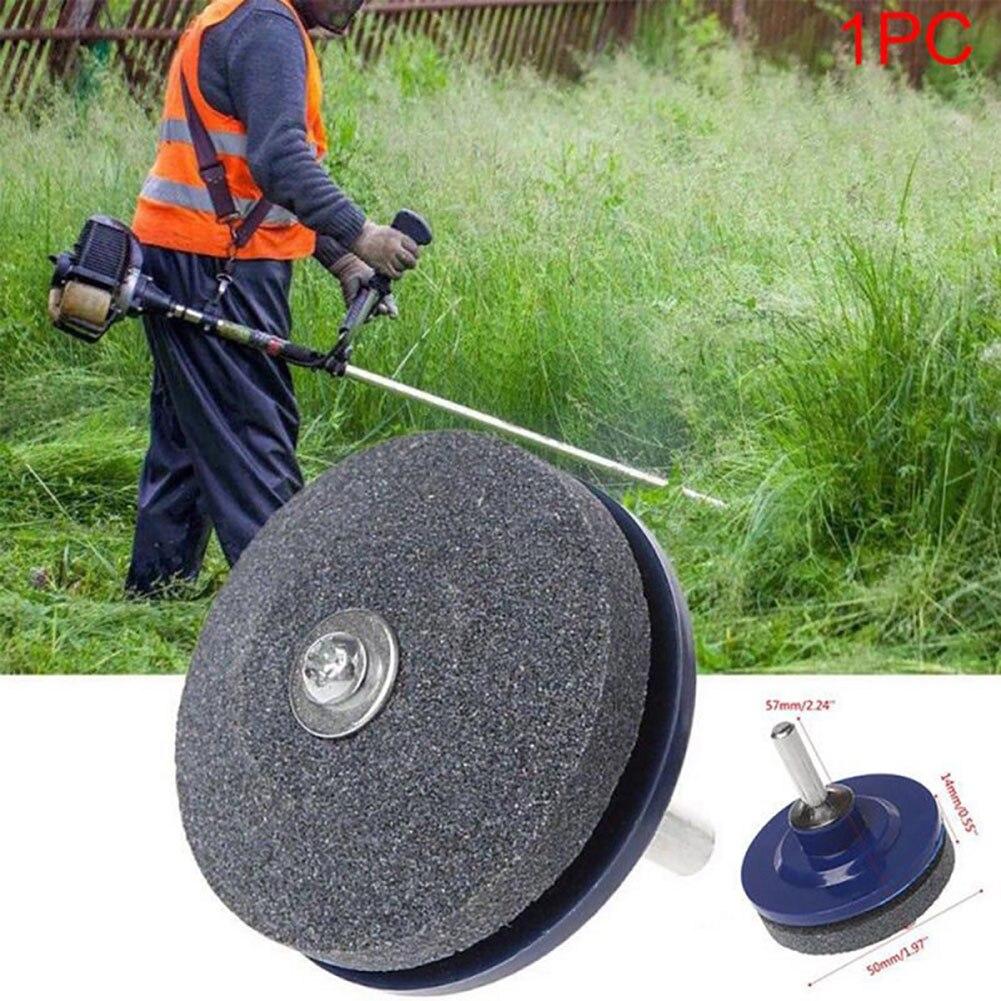 New Faster Blade Sharpener Lawn Mower Grinding Rotary Drill Cut Lawnmower Blade Sharpener Grinding Tool