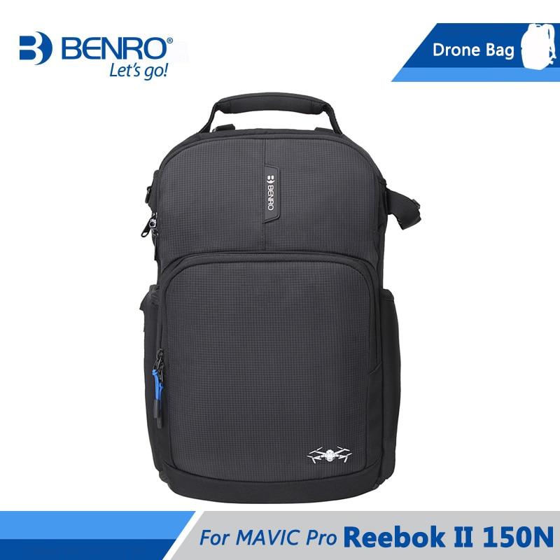 Benro Reebok II 150N Drone bolsa de cámara para MAVIC Pro Drone Nylon impermeable bolsa de la Cámara caso DHL envío gratis