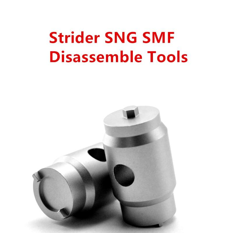 Herramienta de desmontaje Strider SNG SMF ST herramienta de desmontaje enhebrador destornillador llave de acero inoxidable EDC cuchillo herramienta de eliminación