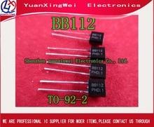 Diodes à capacité Variable en silicium, 10 pièces, BB112 BB 112 à-92-2