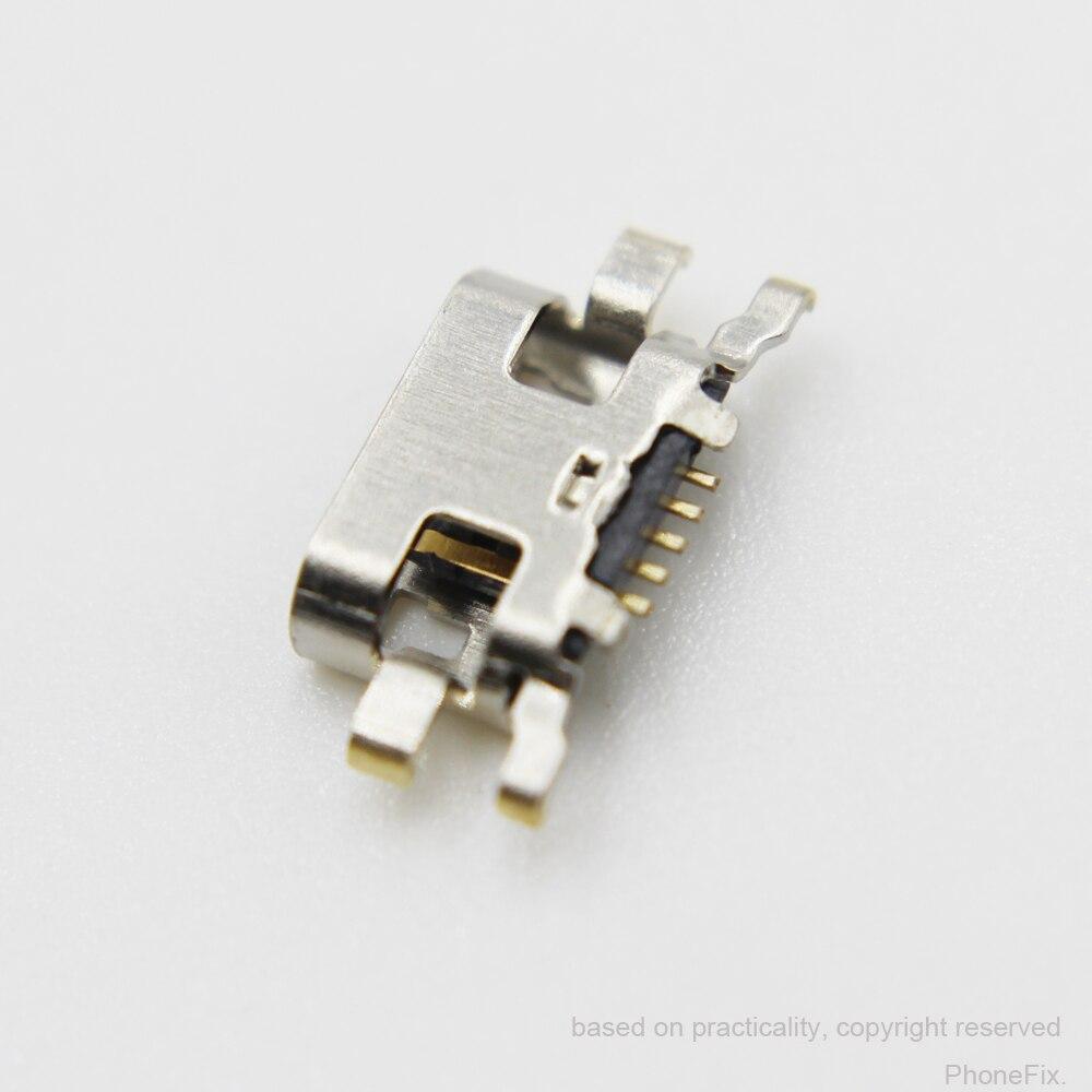 30 unids/lote Micro USB de carga DC Puerto Jack conector para Nokia...