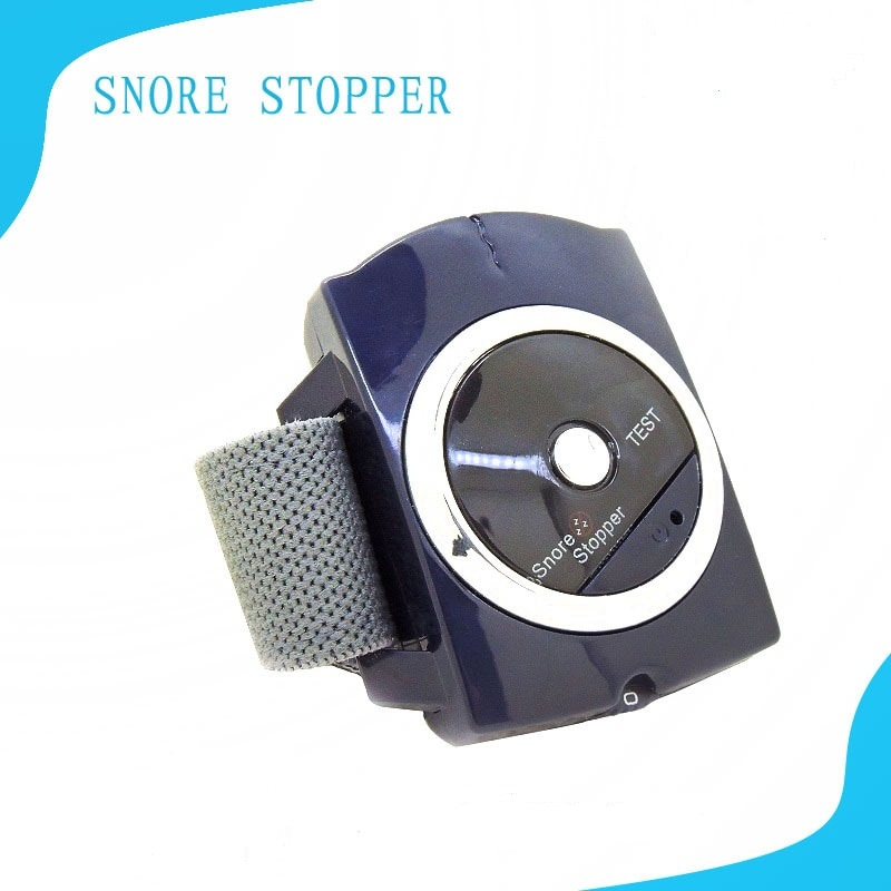 Infrared Smart Snore Stopper Device Stop Snoring Wristband Watch Anti Snoring Sleeping Night Aid Biosensor Snore-ceasing