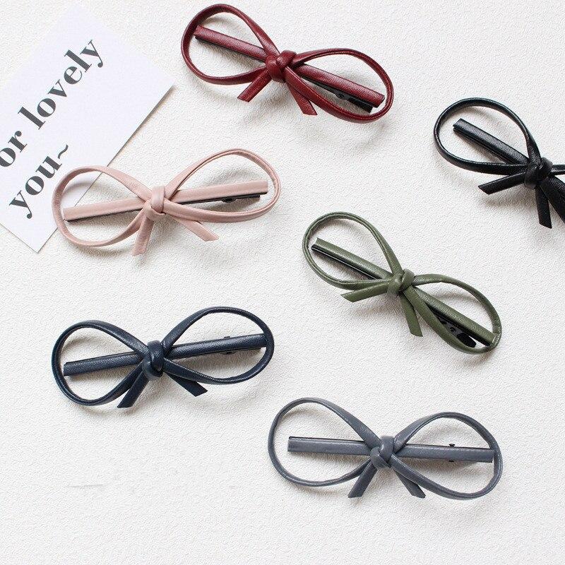 Nuevo precioso Bowknot mujeres pasadores de horquilla broches para el cabello bonitos diadema para las mujeres las niñas sombreros accesorios para el cabello