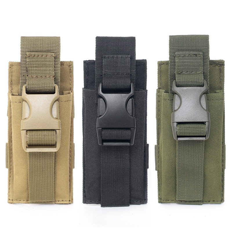 Bolsa militar de Molle, envío por EE. UU., bolsa táctica de una sola pistola para revista, bolsas, funda para Airsoft, munición de caza, bolsa de camuflaje