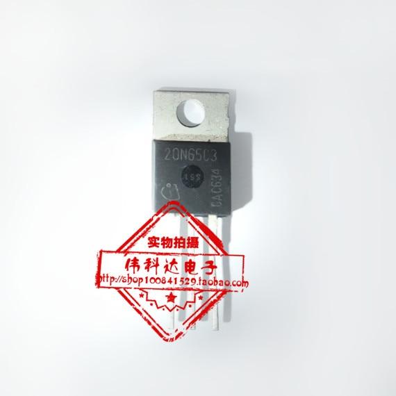 10PCS/LOT SPP20N65C3 20N65C3 TO-220 MOS field effect transistor