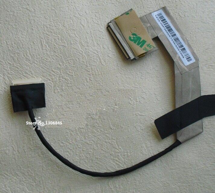 Venta al por mayor WZSM nuevo Flex LCD Video Cable para ASUS EEE PC 1001 1001HA 1005HA 1005PE Cable lvds para computadora portátil P/N 1422-00MK000