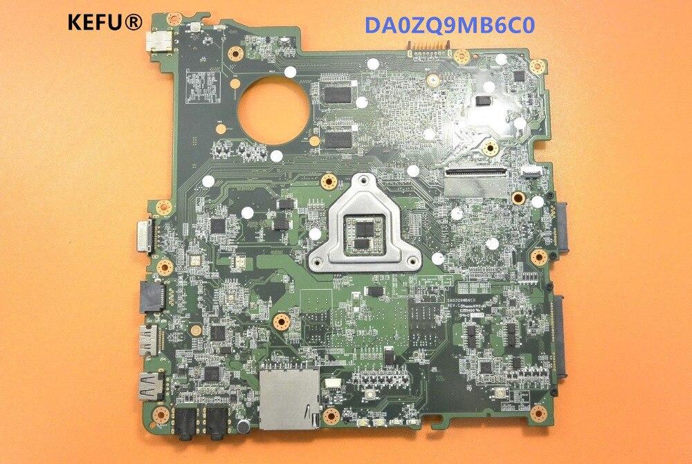 Placa base de ordenador portátil KEFU DA0ZQ9MB6C0 para Acer 4738 4738G 4738Z 4738ZG HM55 con tarjeta gráfica a bordo