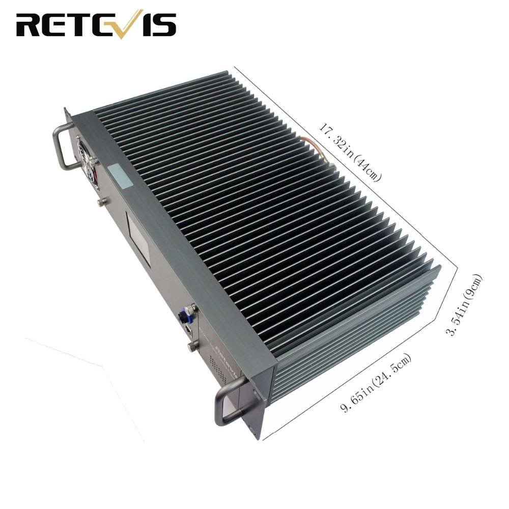 Retevis RT-9550 DMR Repeater 55W UHF Digital/Analog Mode TDMA 2 Time Slots IP Networking A9116A