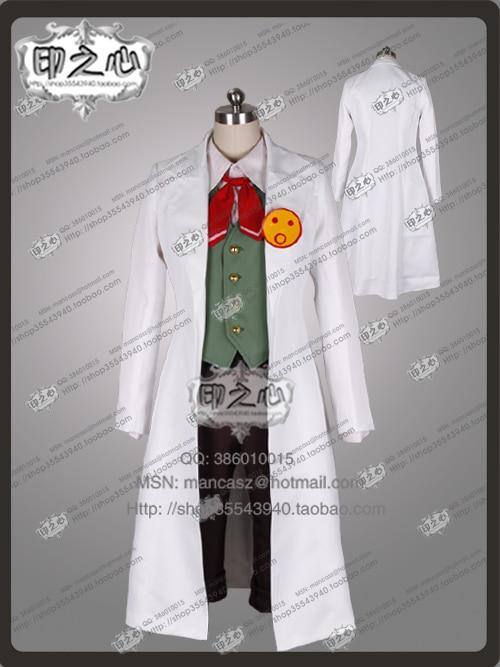 phoenix Wright Ace Attorney Akane Houzuki Ema Skye Clothing Gyakuten Saiban Cosplay Costume top+pant+vest+coat 11