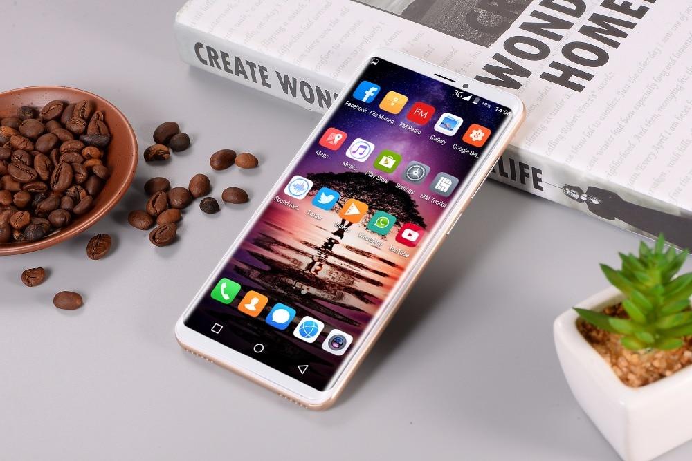 """Original GuoPhone P20 Pro Mobile Phone MTK6580 Quad Core Android 8.1 6.1"""" IPS 1320X720 1GB RAM 8GB ROM Dual Sim 8.0MP"""
