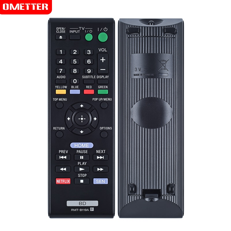 tv remote control rmt-b119a use for Sony TV para bdp-bx110 bdp-bx310 bdp-bx59 bdp-s1100 bdp-s3100 bdp-s390 bdp-s5100 bdp-s59
