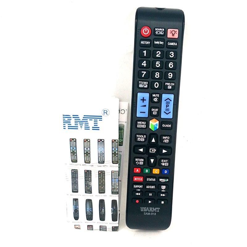 Novo controle remoto SAM-918 universal para samsung tv 3d lcd tv controle remoto telecomando com netflix amazon BN59-0 .. AA59-0 ..
