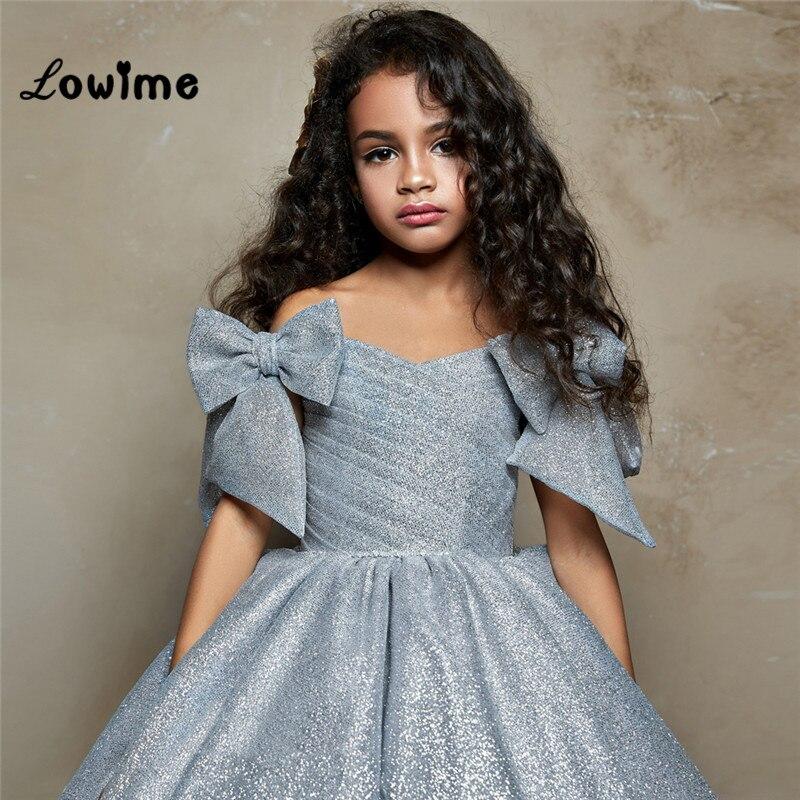 Длинные платья принцессы для девочек 2018 с цветами свадеб элегантные детское