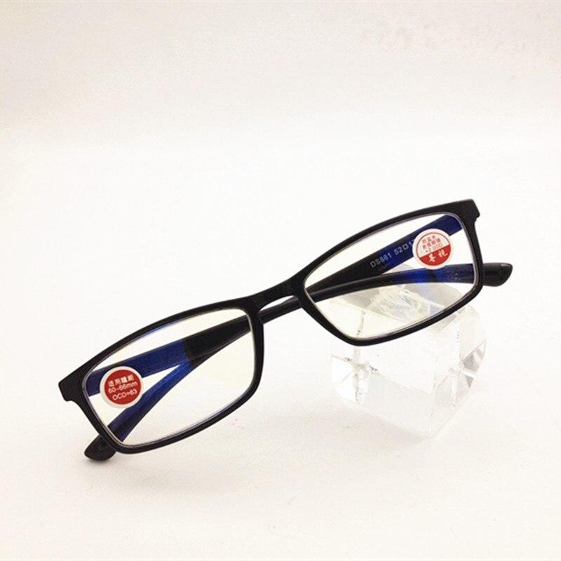 TR90 anti-blue ray gafas de lectura hombres mujeres anti-reflectante gafas de lectura presbicia negro + 100 + 150 + 200 + 250 A + 400