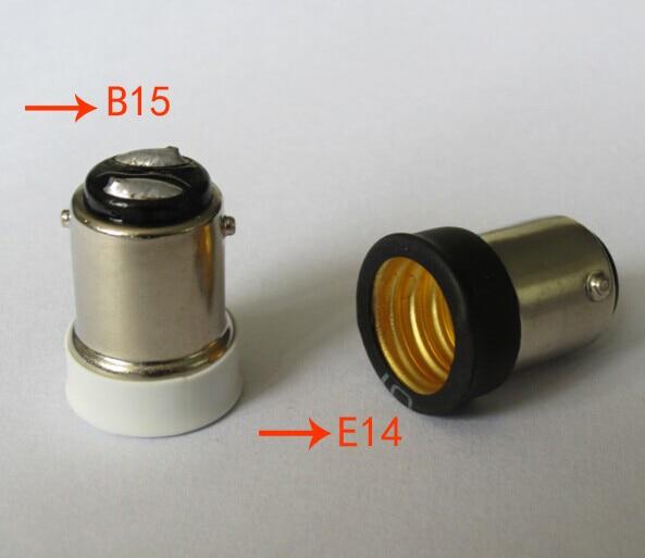 Совершенно новый маленький штык SBC B15 к маленьким Винтам SES E14 светильник адаптер
