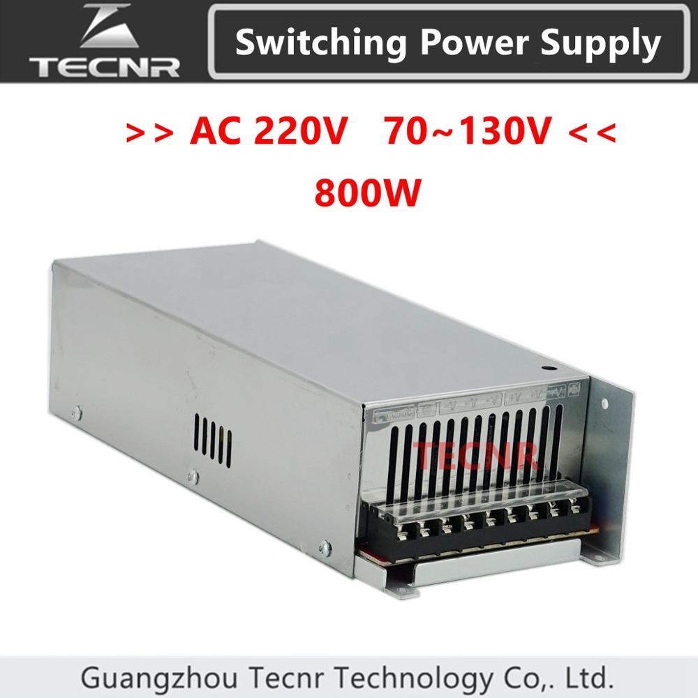 تحويل مصدر الطاقة 800 واط ، خرج تيار متردد 220 فولت تيار مستمر 0-70 فولت 80 فولت 100 فولت 110 فولت 130 فولت محول لآلة النقش cnc