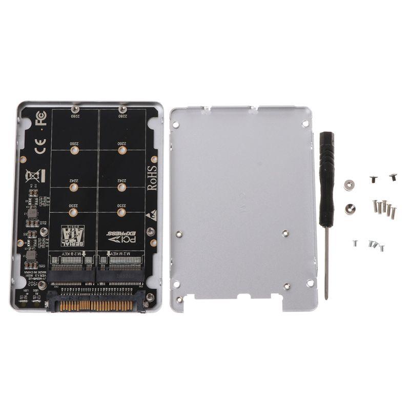PCIE 3.0 PCI-Express NGFF SSD X4 X16 Intel M-KEY B-Key Card M.2 TO U.2 SFF-8639 Adapter Converter with U2 Box