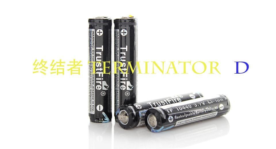 original TrustFire Protected 10440 3.7V 600mAh Rechargeable Li-ion Batteries