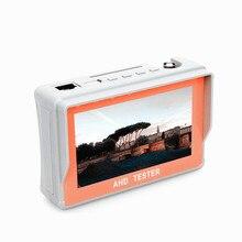 4.3 Inch HD AHD CCTV Tester Monitor AHD 1080P Analog Camera Testing PTZ UTP Cable Tester 12V1A Output