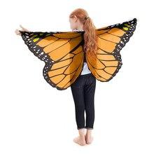 VOGUEON-Cape ailes papillon   Accessoires de Costume de fête Cosplay conte de fées pour enfants, cadeau danniversaire, pour garçons et filles