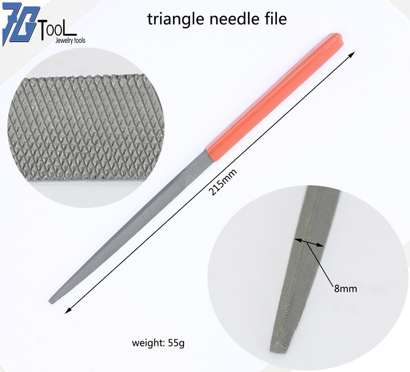 Juego de Limas de aguja limas para joyería de piedra de vidrio de Metal herramienta para tallar madera