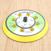 "DRELD 125mm 8 Hole Sanding Pad 5"" Polishing Disc Grinding Plate Disc For 125mm Power Sanders Polishers Dremel Accessories"