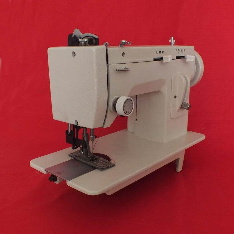 Máquina de coser de Material de ropa gruesa, máquina síncrona de cuero eléctrica 220V 150W 0-7MM paso de aguja 106-RP