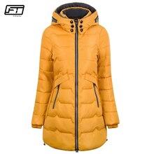 Abrigo de algodón Fitaylor 2019 de talla grande 6xl 7xl, Chaqueta larga de invierno para mujer, Parka gruesa, delgada, larga, cálida, con capucha, Parkas acolchadas para mujer