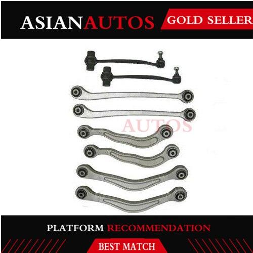 8 Uds conjunto completo de brazo de Control de suspensión del eje trasero para Mercedes Benz Clase S W220 2000-2005 2203502406 2203502606 2203502206