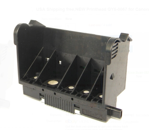 Печатающая головка для Canon iP5300 MP810 оригинальная QY6-0067 QY6-0067-000 печатающая головка iP4500 MP610