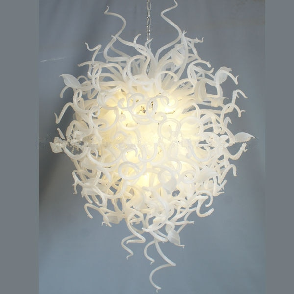 Extraordinary Crystal Ball Wedding Deco Murano Glass Chandelier