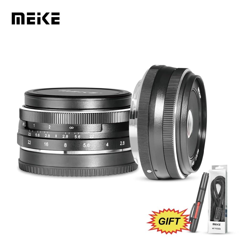 MEKE 28mm f/2.8 Fixa Foco Manual Lente para Olympus Panasonic M4/3 Sistema APS-C Câmera Mirrorless EM1 M10 EP5 EP-L3 PEN-7 GF5 G