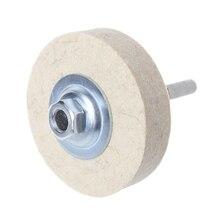 76x20mm laine feutre polissage polissage meule polisseuse disque tampon outil rotatif