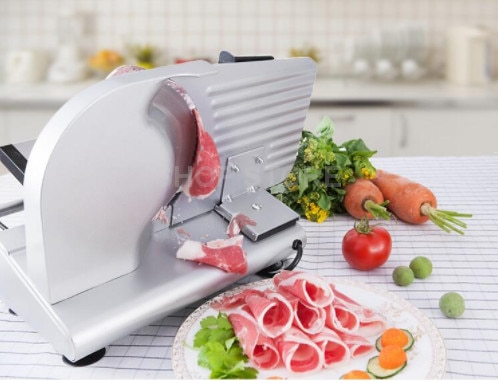 Cortadora de carne eléctrica, cortadora de carne, cortadora de carne congelada de cerdo