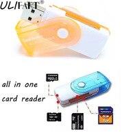 20 יח'\חבילה ULIFART חם SD/MS/TF/M2 כל אחד Multislot קורא כרטיסי זיכרון מתאם USB 2.0 קורא